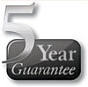 5 Yr Guarantee