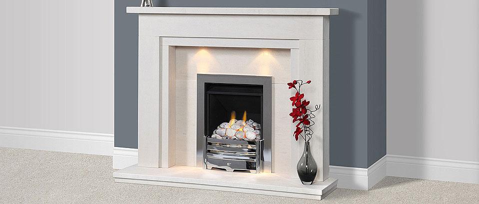 Portuguese Limestone Fireplace, Aerveirra
