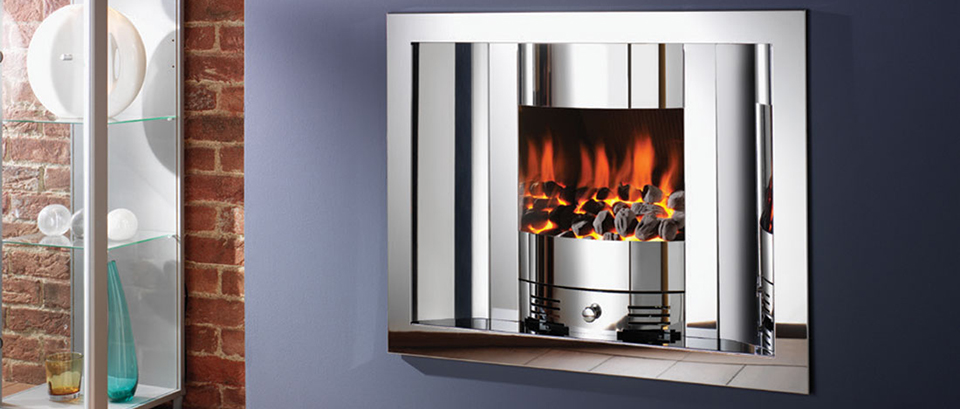 Crystal Fires, Emarald-Scoop Gas Fire